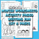 Activity Printables for Winter II  (Karen's Kids Printables)