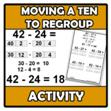 Activity - Moving a ten to regroup
