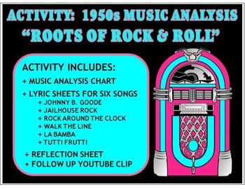 Activity: Music Analysis - 1950s