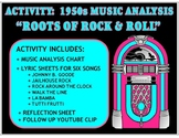 """Activity: Music Analysis - 1950s """"Roots of Rock and Roll"""""""