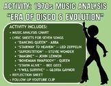 "Activity: Music Analysis - 1970s ""Era of Disco and Evolution"""