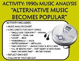 "Activity: Music Analysis - 1990s ""Alternative Music Becomes Popular"""