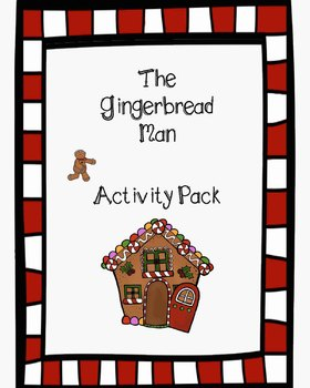 {Activity Pack} Gingerbread Man