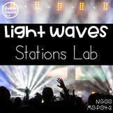 Light Waves Stations Lab (MS-PS4-2)