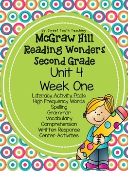 Activity Pack: McGraw Hill Reading Wonders 2nd Grade Unit