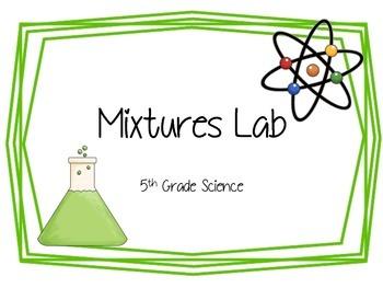 Activity Pack: Mixtures Lab