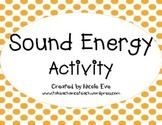 Activity Pack: Sound Energy Activity