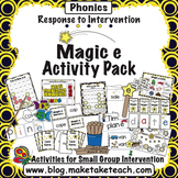Magic e Activity Pack- Response to Intervention