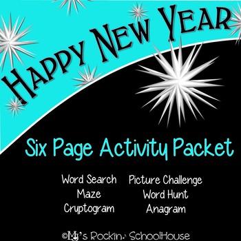 Activity Packet: Happy New Years!