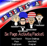 Activity Packet: Presidents' Day