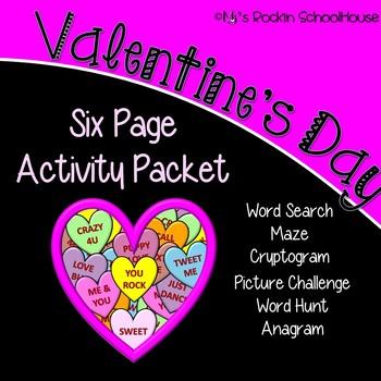 Activity Packet: Valentine's Day