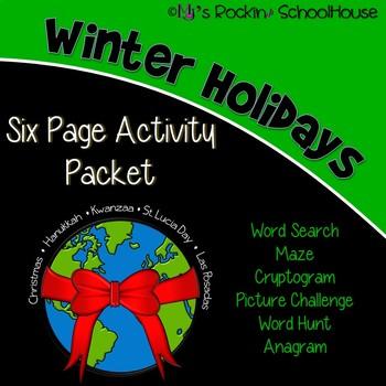Activity Packet: Winter Holidays