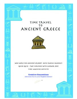 Activity Packet for Ancient Greece and Mythology