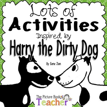 Activity Packet Inspired By Harry The Dirty Dog By Gene