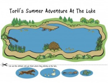 Activity Pages for Torii's Summer Adventure