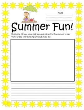 Activity Pages for the 1st Day of School and Beyond Freebie!
