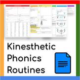 Activity + Printable: Kinesthetic Phonics Routine