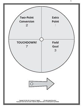 Comprehension Activity: Score With the Literature Super Bowl