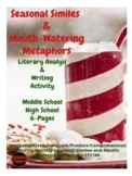 Comprehension & Writing Activity: Seasonal Similes and Mou