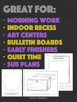 Activity Sheet Bundle.
