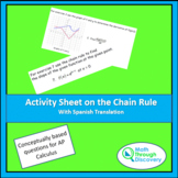 Activity Sheet on the Chain Rule