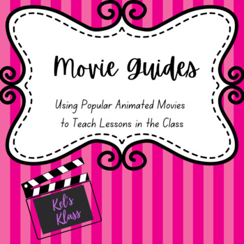 Movie Guide Animated Set (Planes, Finding Nemo, Monsters Inc. Ferngully, Lion Ki