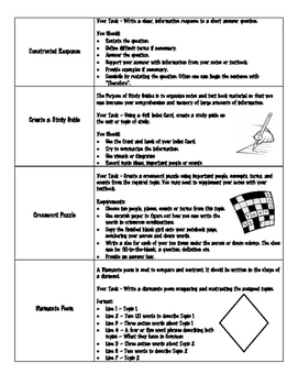 Activity Sheets for Interactive Notebooks