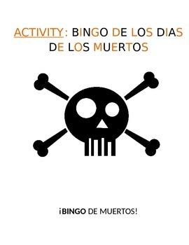 Activity for Levels Sp1-Sp5 - Día de los Muertos Vocabular