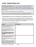 Activity - Spotting Phishing Emails