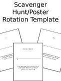 Activity / Task Card Templates