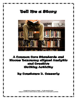 Analyzing Fiction Activity: Tell Me a Story