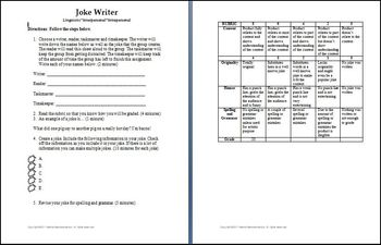 Activity Templates and Rubrics Bundle