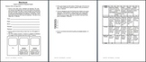 Activity Templates and Rubrics Bundle