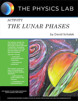 High School Astronomy and Earth Science - Activity: The Lunar Phases