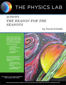 Activity: The Reason for the Seasons