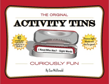 Activity Tins - I Have, Who Has? - Sight Words - A Game fo
