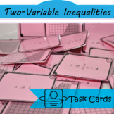Trading Cards: Identify Two-Variable Inequalities