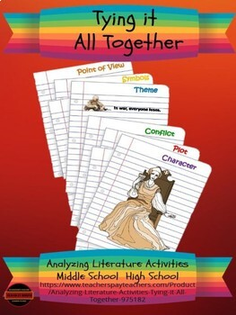 Analyzing Literature Activities: Tying it All Together
