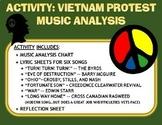 Activity: Music Analysis - Vietnam Protest Songs