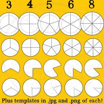 Activity Wheel Templates and Clip Art