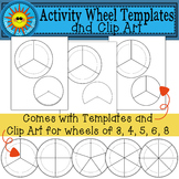 Activity Wheel Templates and Clip Art