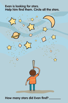Activity Worksheets - Count the Stars