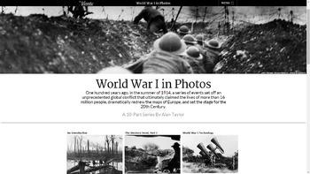 Activity: World War I in Photos