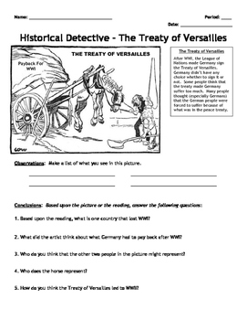 Activity: World War II Historical Detective - Analysis and Sources