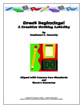 Writing Activity: Write Right-Great Beginnings!