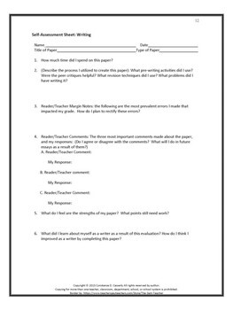 Writing Activities: Write Right! Incredible Critique Forms and Rubrics