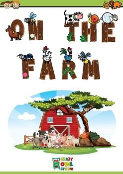 Activity book ON THE FARM