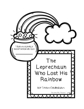 "Activity booklet for ""The Leprechaun Who Lost His Rainbow"" by Sean Callahan"
