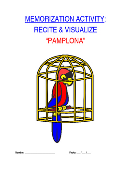 Activity for Levels Sp1 through Sp5 - Pamplona: Memorized Recitation