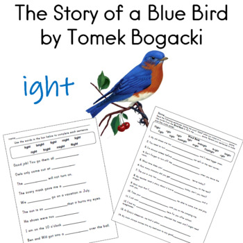 Harcourt Trophies for First Grade The Story of a Blue Bird by Tomek Bogacki